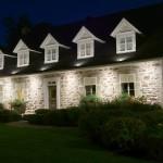 Réalisation d'éclairage de petite maison