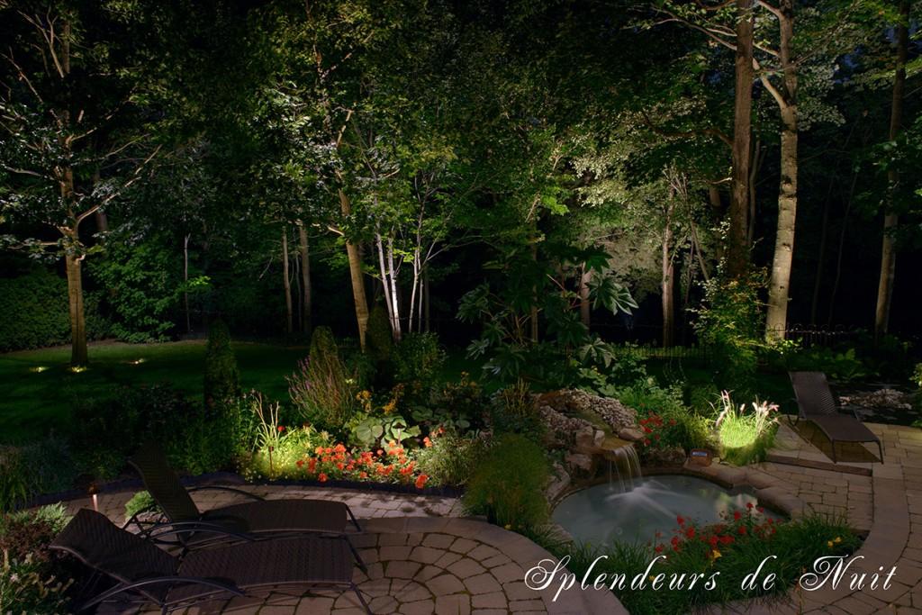 Éclairage Paysager | Splendeurs de Nuit