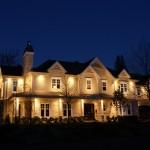 Réalisation d'éclairage de maison