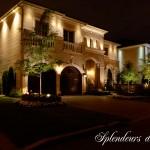Réalisation d'éclairage de maison luxueuse