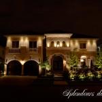 Réalisation d'éclairage architectural luxueuse