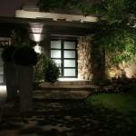 Réalisation d'éclairage de facade de maison