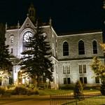 Réalisation d'éclairage architectural d'église