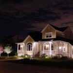 Réalisation d'éclairage de maison champêtre