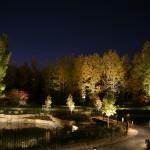 Réalisation d'éclairage de parc