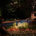 Réalisation d'éclairage de piscine