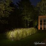 Réalisation d'éclairage extérieur simple